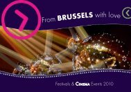 From BRUSSELS with love - VisitBrussels