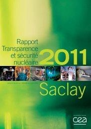 TSN SACLAY 2011 - CEA Saclay