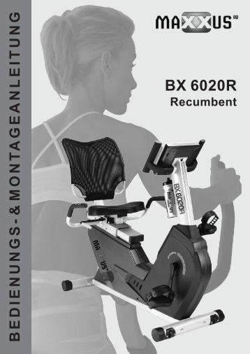 BX 6020R Montage - MAXXUS