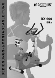 BX 600 Montage - MAXXUS