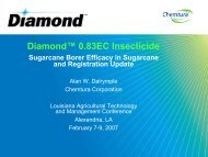 Diamond™ 0.83EC Insecticide - Louisiana Agricultural Consultants ...
