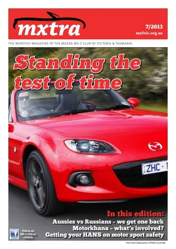 June - Mazda MX-5 Club of Victoria & Tasmania