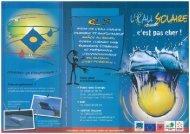 Plaquette Chauffe-eau solaire - ADEME Guyane