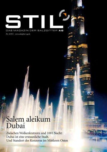 Salem aleikum: Begrüßung im Arabischen - Schau Verlag Hamburg