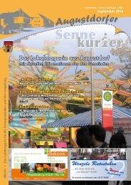 Das Lokalmagazin aus Augustdorf - Sennekurier Augustdorf