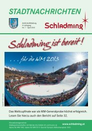 Ausgabe April 2012 - Schladming