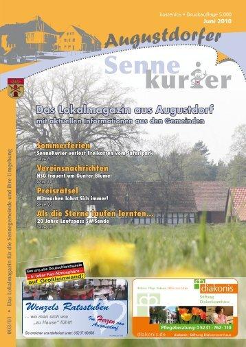 Wenzels Ratsstuben - Sennekurier Augustdorf