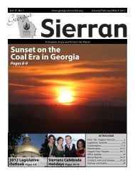 Jan-Feb-Mar 2012 - Georgia Sierra Club