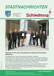 Ausgabe April 2011 - Schladming