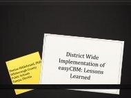Lessons Learned - Riverside Publishing