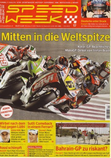 Speedweek - Ausgabe 2012-17 / MX-Frauenfeld - RS-Sportbilder