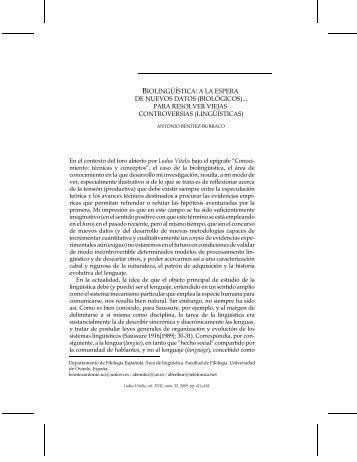 lingüísticas - Ludus Vitalis