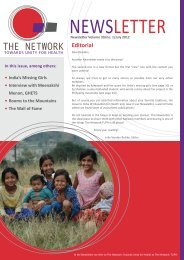 Newsletter 2012-1.pdf - The network - Towards Unity For Health