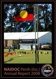 2008 NAIDOC Perth Annual Report