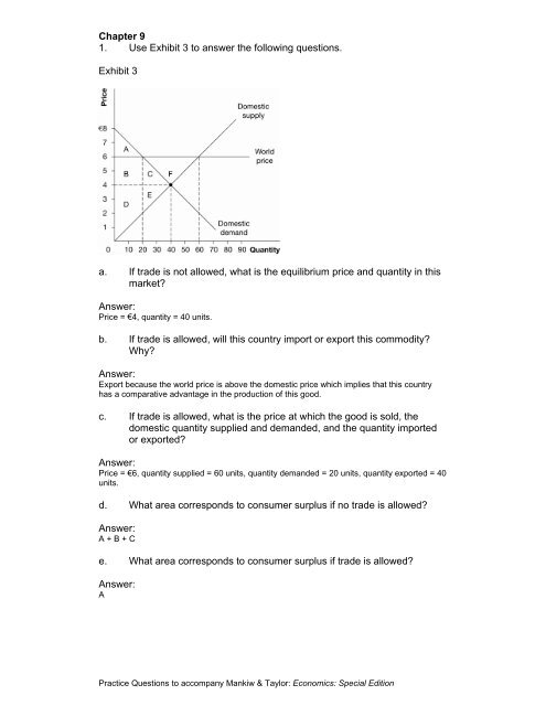 Chapter 9 Questions And Answers