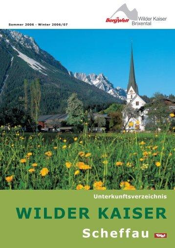 Häuserkatalog (pdf) - Scheffau am Wilden Kaiser