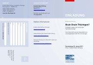 einladung - Landesbüro Thüringen der Friedrich-Ebert-Stiftung