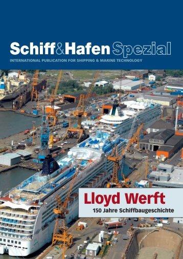 Lloyd Werft Bremerhaven - Schiff & Hafen
