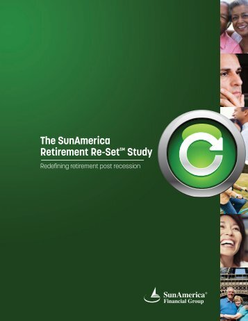 The SunAmerica Retirement Re-SetSM Study - Age Wave
