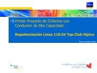 Repotenciación Línea 110 kV Tap Club Hípico