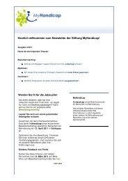 Newsletter als PDF - MyHandicap