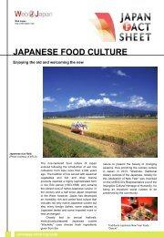 Japanese Food Culture - Web Japan
