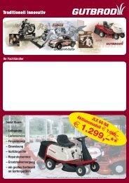 € 1.299,–** - Schrader Handel GmbH