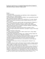 baselska konvencija o nadzoru prekograničnog ... - NVO Green Home