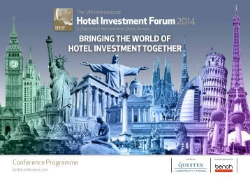 to view and download the IHIF 2013 programme - International Hotel ...