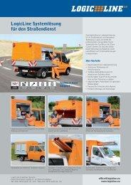 LogicLine Systemlösung für den Straßendienst