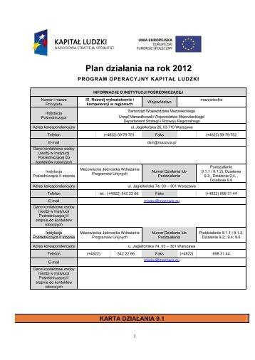 """""""Rozwój wykształcenia i kompetencji w regionach"""" PO KL (2012-01-19"""