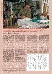 Humor aus einer Linie - Birseck Magazin