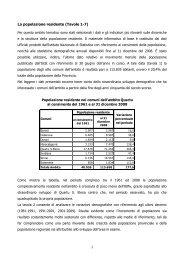 Profilo d'ambito Plus Quartu dicembre 2009 - Sociale - Provincia di ...