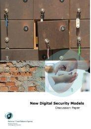 New Digital Security Models