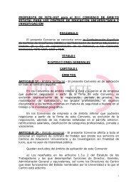 PROPUESTA DE FETE-UGT para el XIII CONVENIO DE ÁMBITO ...