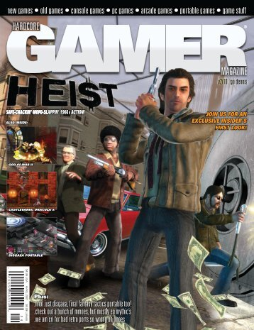 Volume 2 Issue 10 April 2007 Heist - Hardcore Gamer