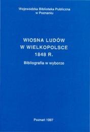 """Show publication content! - Wielkopolska Biblioteka Cyfrowa - PoznaÃ…Â"""""""