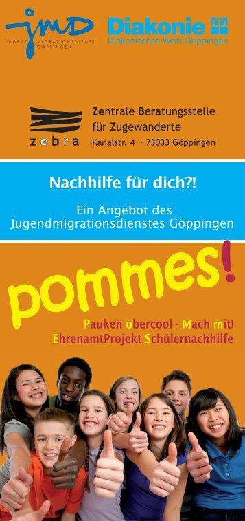 """""""Pommes"""" für Jugendliche"""