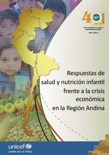 Respuestas de salud y nutrición infantil frente a la crisis económica ...