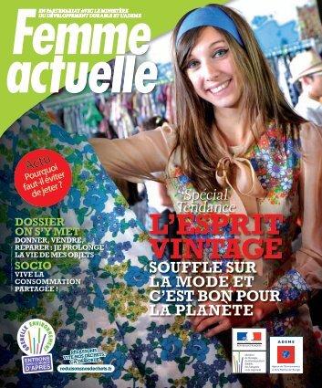 L'esprit vintage souffle sur la mode et c'est bon pour la planète ! (PDF)