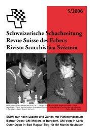 Serie (XXXIX): Das Jacobs-Thema - Schweizer Schachbund