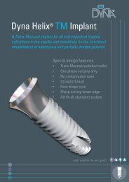 Dyna Helix® TM Implant - Dyna Dental