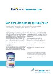 Resource ThickenUp Clear - nestle nutrition