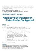 Alternative Energieformen – Zukunft oder Sackgasse? - TUalumni - Page 3