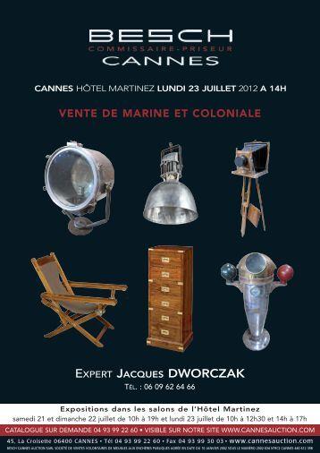EXPERT JACQUES DWORCZAK - Besch Cannes Auction