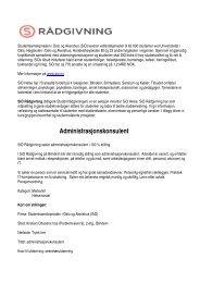 Ledig stilling som administrasjonskonsulent - SiO