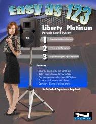 Liberty Platinum - arizona church sound
