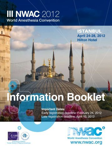 Information Booklet - Kenes Group