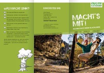 Flyer als .pdf - JDAV Bayern