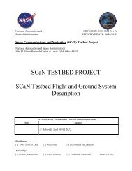 General Plan Template - Space Flight Systems - NASA